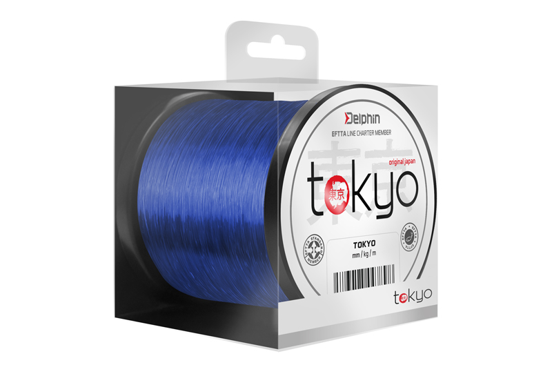 Delphin TOKYO modrý 300m0,261mm 12lbs