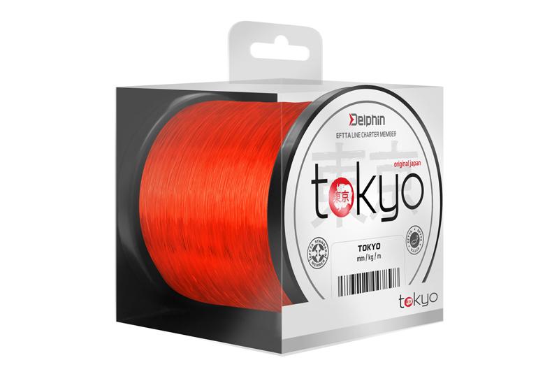 Delphin TOKYO oranžový 300m0,261mm 12lbs