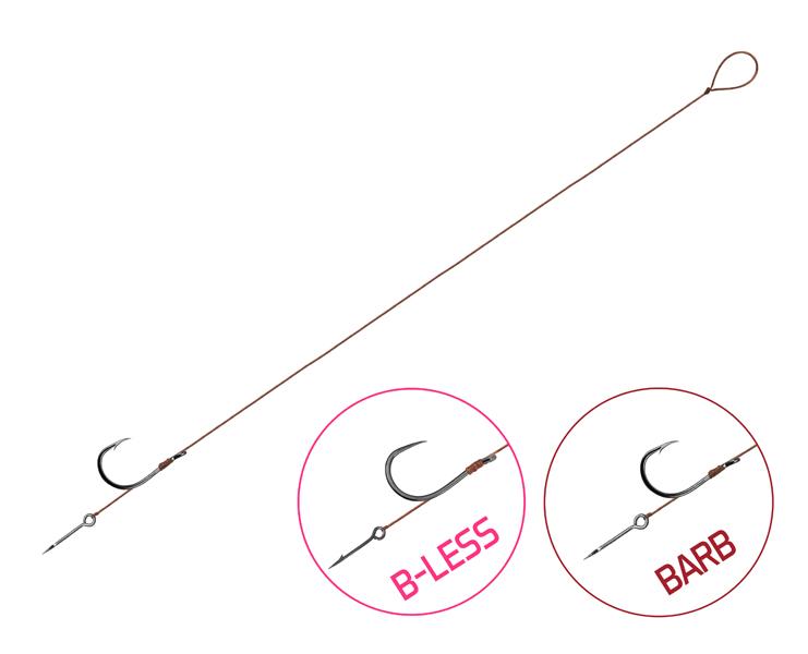 Feedrový nadväzec Delphin Proxi 8 Sting / 6ks8cm #8