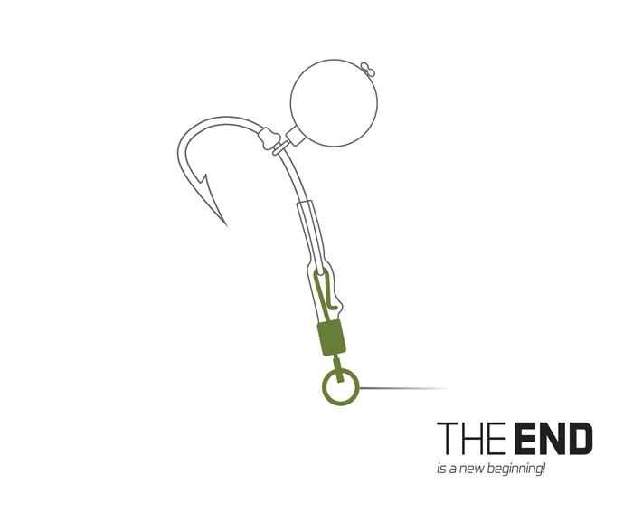 Rychloobratlík Delphin THE END s kroužkem #4 10ks