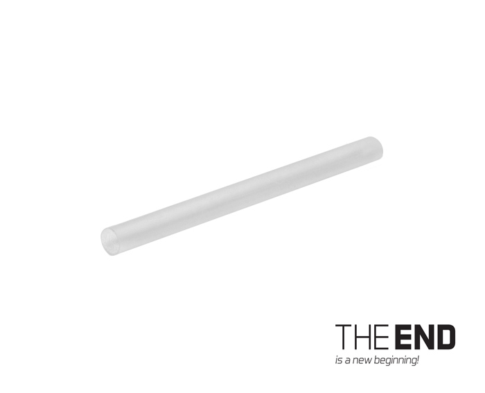 THE END Zmršťovacia bužírka 43mm x 3mm /30ks43mm x 3mm