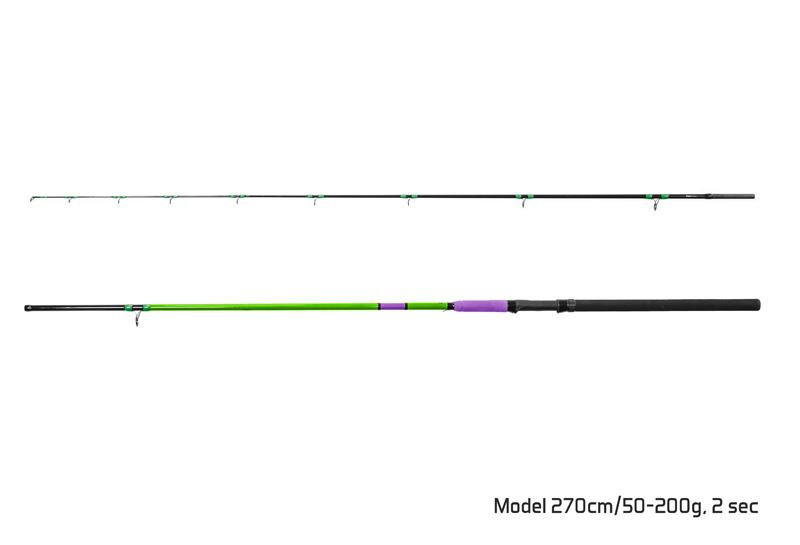 Prut Delphin PILKSTER 270cm/50-200g