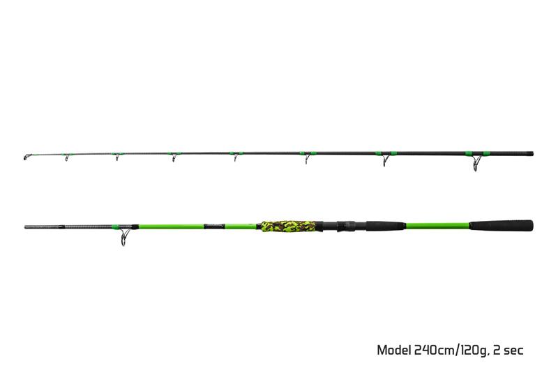 Prut Delphin Hyperio 2 180cm/120g