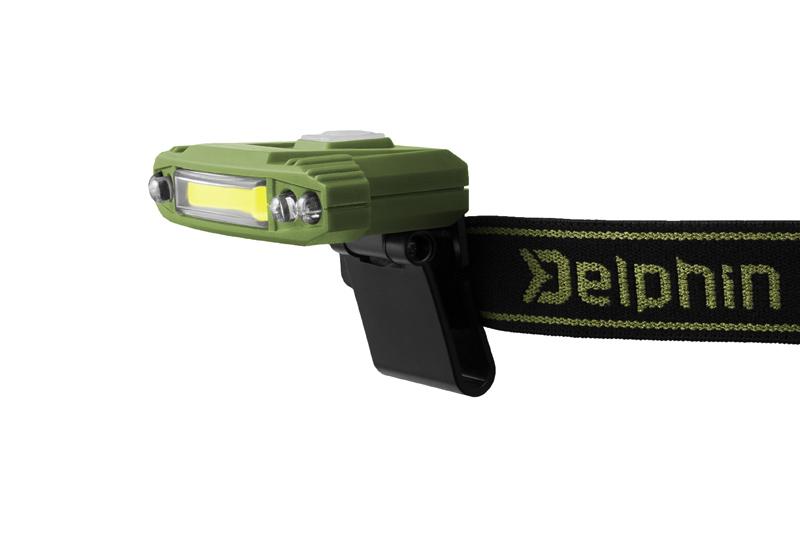 Čelovka Delphin Razor USB nabíjecí
