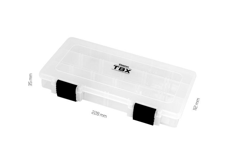 Krabica Delphin TBX One 228-3P Clip228x112x35mm