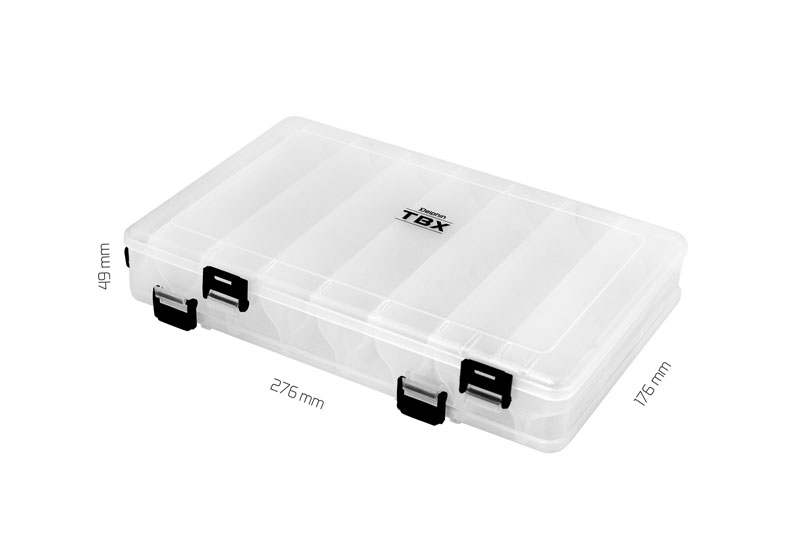 Krabica Delphin TBX Duo 276-16P Clip276x176x49mm