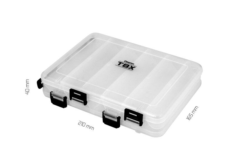 Krabica Delphin TBX Duo 210-12P Clip210x165x40mm