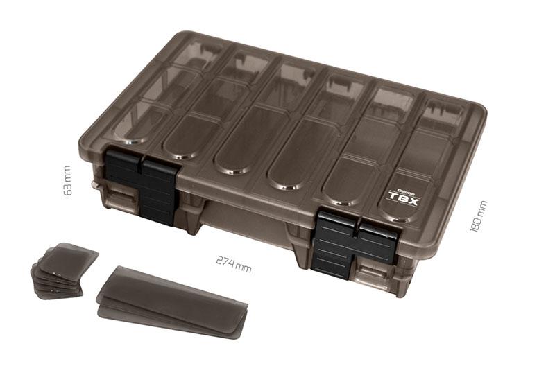 Krabica Delphin TBX Duo 274-11P Clip274x180x63mm
