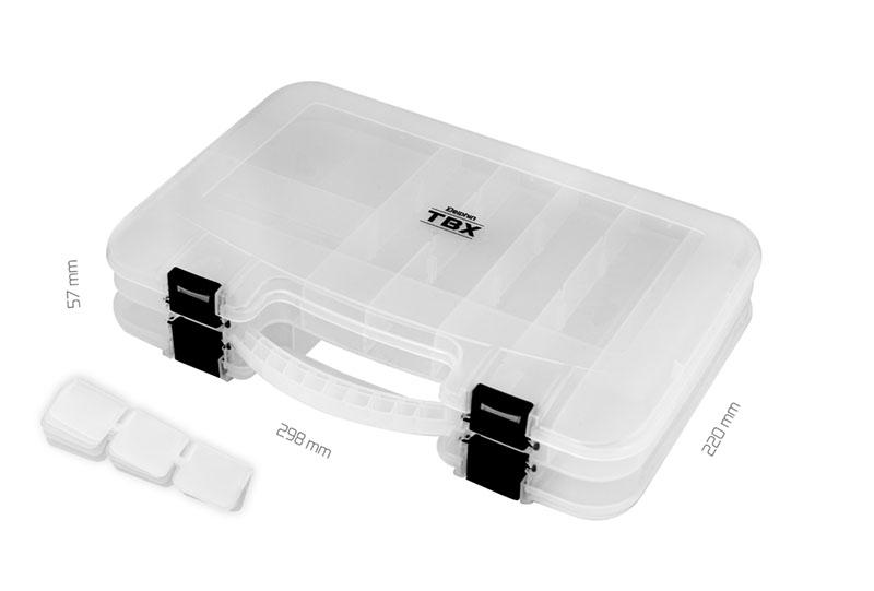 Krabica Delphin TBX Duo 298-12P Clip298x220x57mm