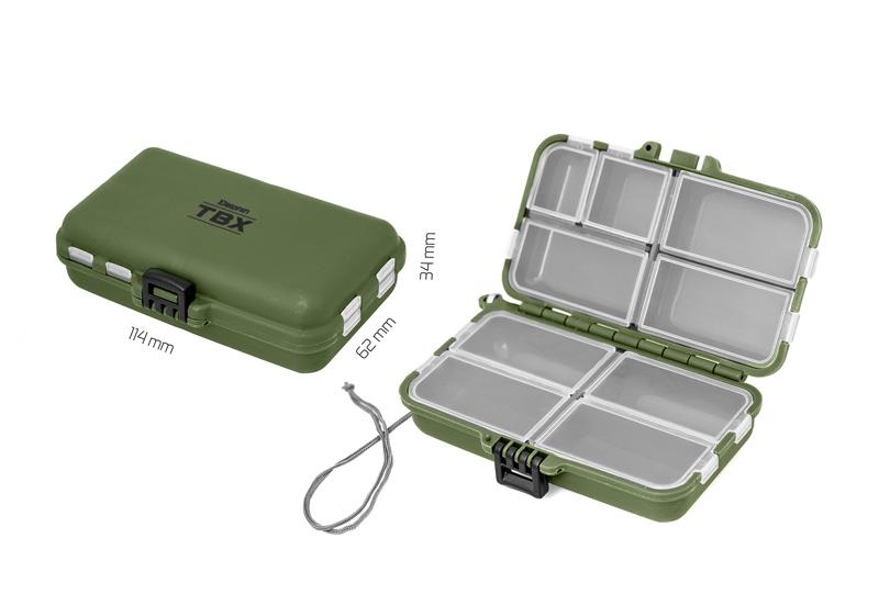 Krabica Delphin TBX Duo 114-9P114x62x34mm