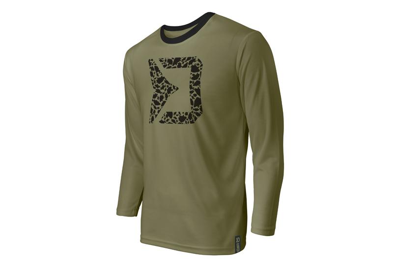 Tričko s dlhým rukávom Delphin RAWER CarpathS