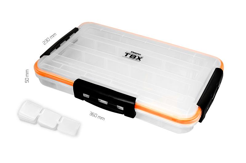 Krabica Delphin TBX One 360-4P Clip WP360x230x50mm