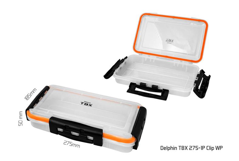 Krabice Delphin TBX One 275-1P Clip WP