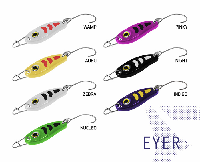 Plandavka Delphin EYER1.5g WAMP Hook #8