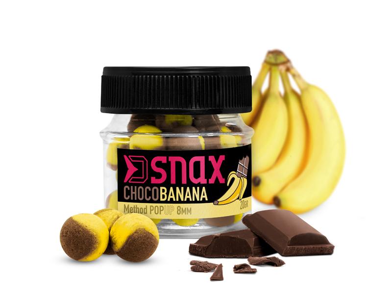 Nástraha D SNAX POP 8mm/20g | Čokoláda-Banán