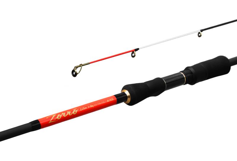 Delphin ZORRO225cm/3-18g