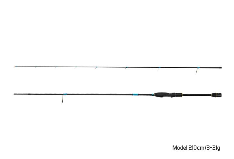 Delphin ZANDERA / 2 diely 210cm/3-21g