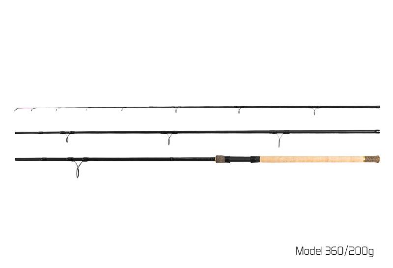 Špička CarbonGlass MEDIUM River Trophy 360/400cm zelená