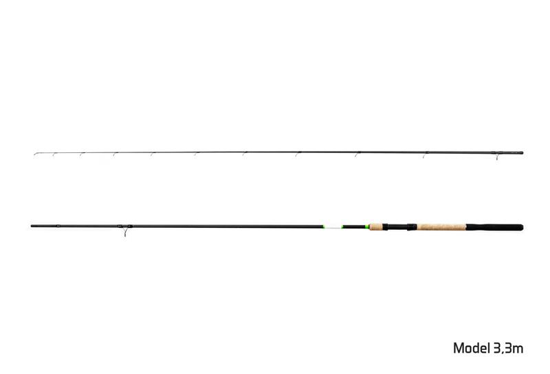 Prut Delphin Hybrix Match/Picker + 3 špičky 3,6m/30g+60g