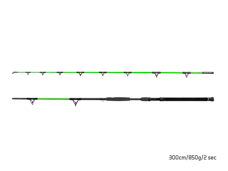 Prut Delphin Walkyra - 2 díly 260cm/850g