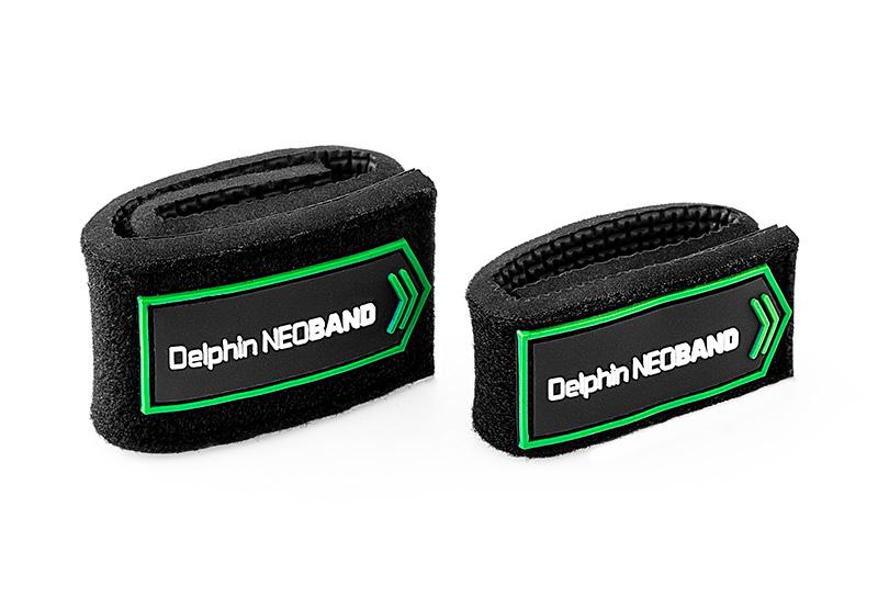 Sťahovacia páska na prúty Delphin NEOBAND / 2ks