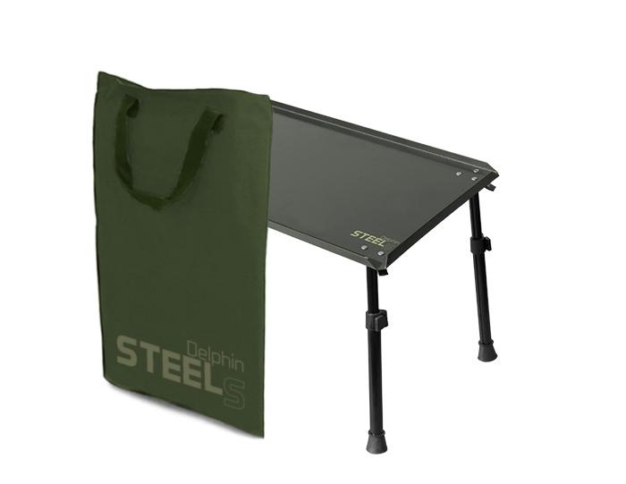 Kaprařský stolek Delphin STEELS XL  55x35cm