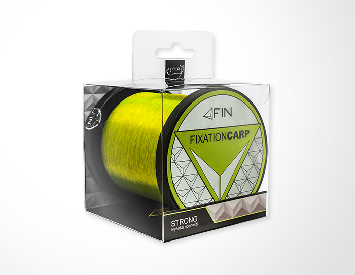 FIN STRONG CARP 1200m/žltá0,25mm 12,1lbs