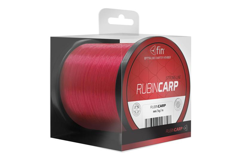 FIN RUBIN CARP 300m / červená0,26mm 13,2lbs