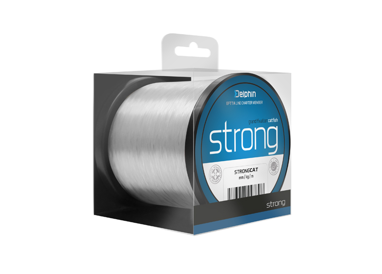 FIN STRONG CAT 500m / transp.0,50mm 33lbs