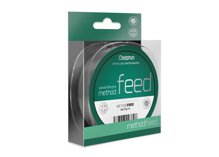 Delphin Method FEED sivá 150m0,14mm 4lbs