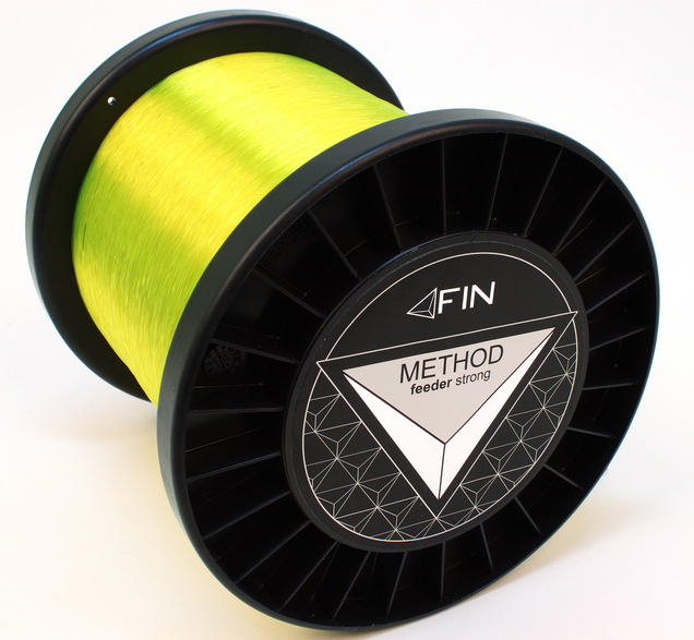 FIN METHOD FEED 5000m/žltá0,14mm 4lbs