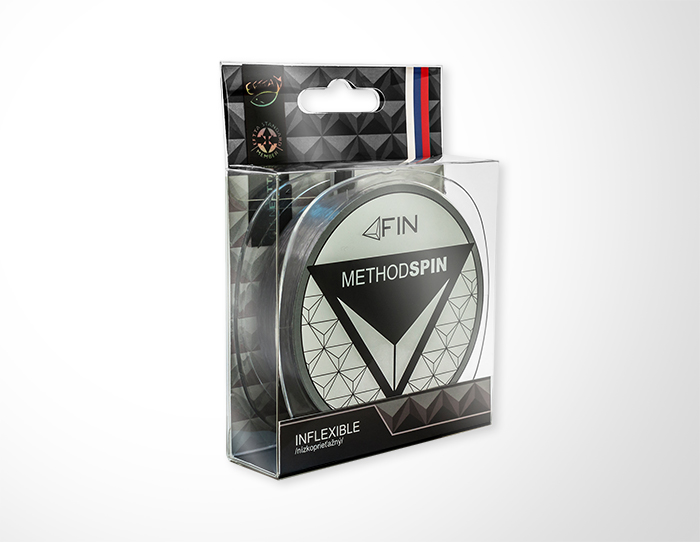 FIN METHOD SPIN  300m/sivá0,14mm 4lbs