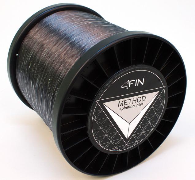 FIN METHOD SPIN  5000m/sivá0,18mm 6,6lbs