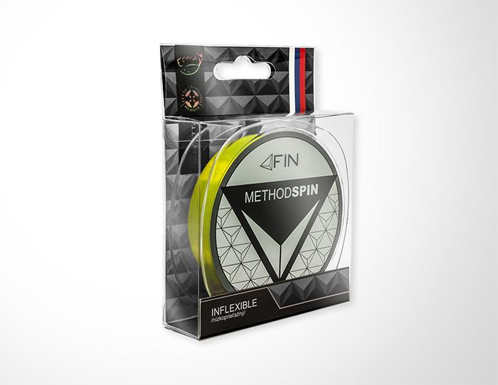 FIN METHOD SPIN  300m/žltá0,28mm 14,3lbs