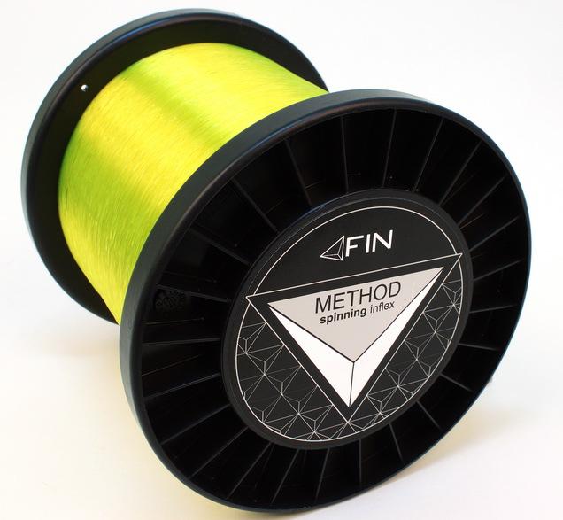 FIN METHOD SPIN  5000m/fluo žltá0,10mm 2,2lbs