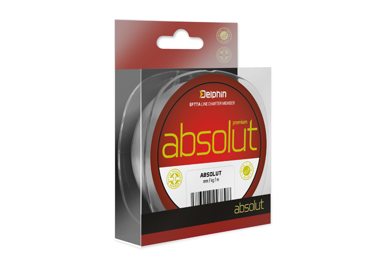 Delphin ABSOLUT transp. 150m 0,10mm 2,3lbs