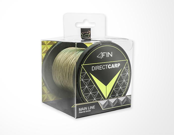 FIN RECORD CARP 1000m/zelená0,20mm 22lbs