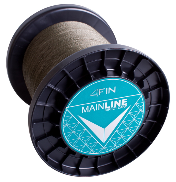 FIN RECORD CARP 3500m/zelená0,20mm 22lbs