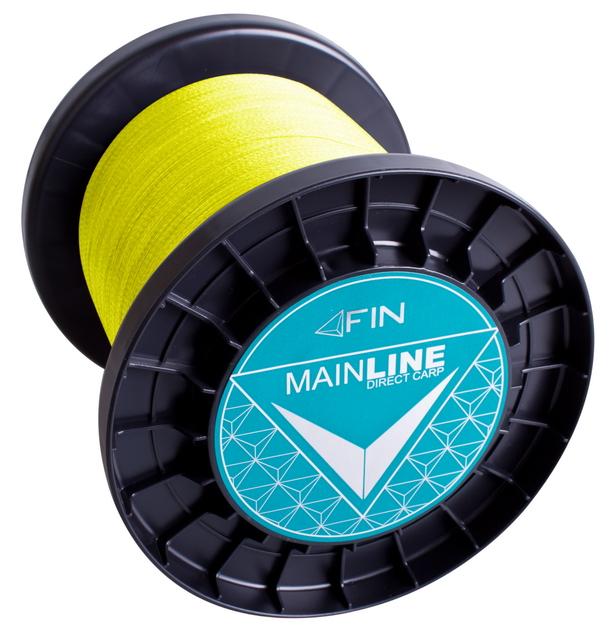 FIN RECORD CARP 3500m/fluo žltá0,20mm 22lbs