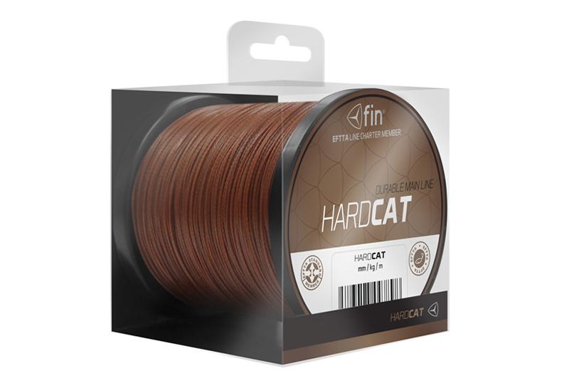 FIN HARD CAT main line 150m/červ.h1,10mm 100kg