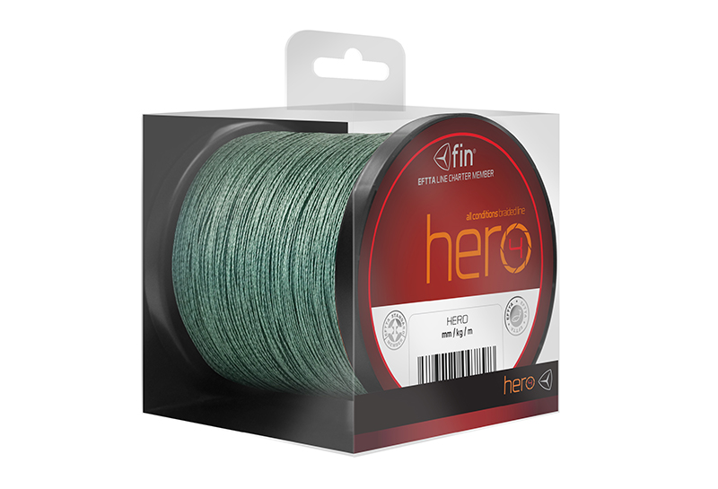 Delphin HERO zelená 300m 0,12mm 18lbs