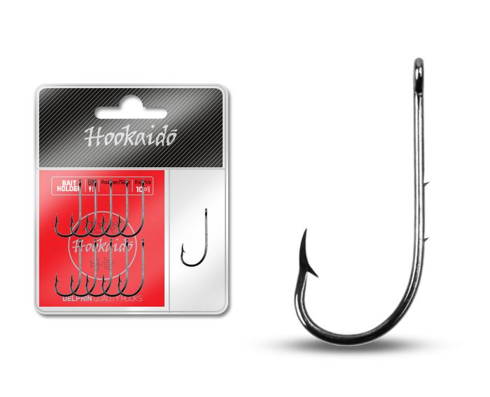 Háčik Delphin HKD BAITHOLDER ring / 10+1ks BN/1