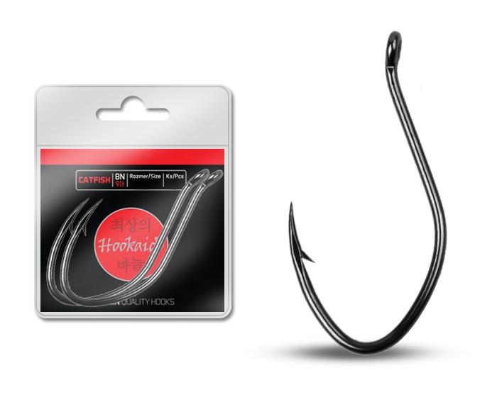 Háčik Delphin HKD CATFISH ring / 6ks BN/2/0
