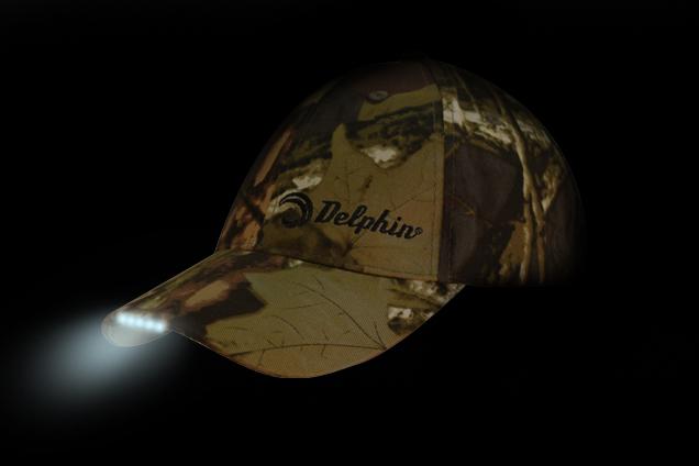 Čiapka DELPHIN s LED kamufláž