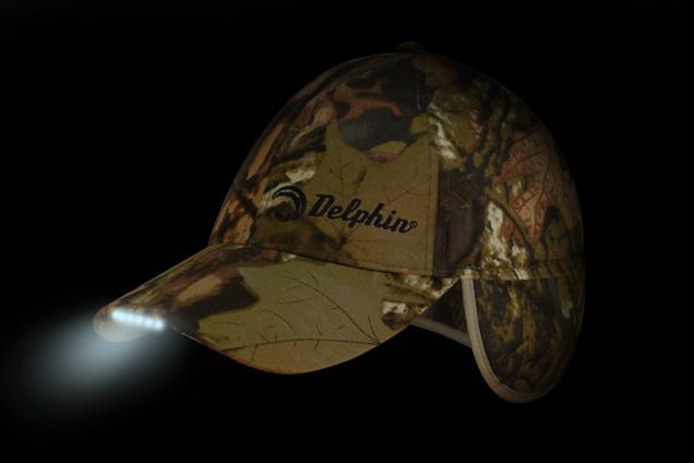Zimná čiapka DELPHIN s LED kamufláž