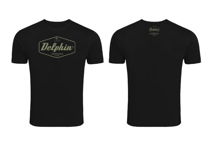 Tričko Delphin Czechoslovakiačierna / L