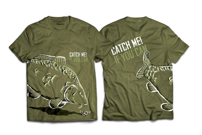 Tričko Delphin Catch me!S