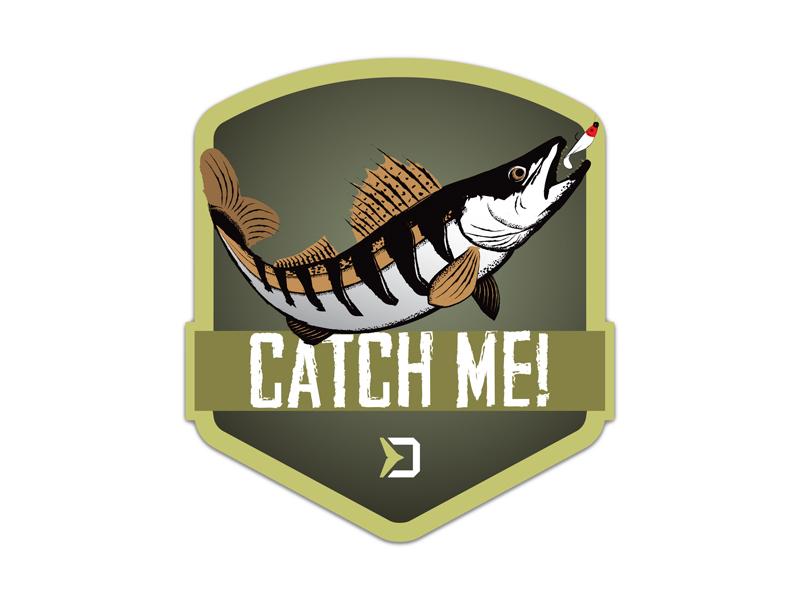 Nálepka Delphin CatchME! ZUBÁČ 9x8cm