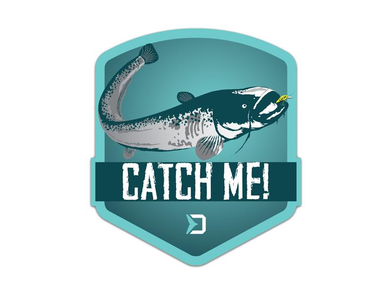 Nálepka Delphin CatchME! SUMEC 9x8cm
