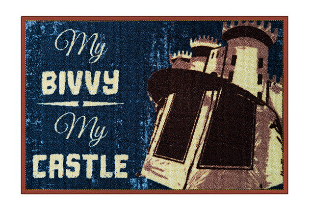 Rohož My bivvy my castle60x40cm